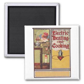 El cocinar con eléctrico imanes de nevera