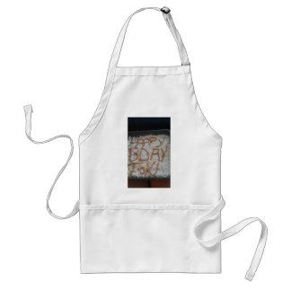 el cocinar con toki delantal