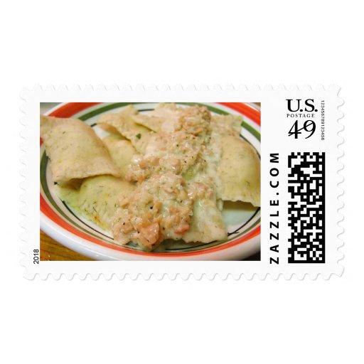El cocinar de la cena de la comida de las salsas envio