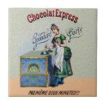 El cocinar de la publicidad del chocolate del azulejo cuadrado pequeño