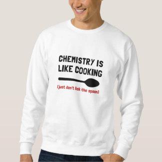 El cocinar de la química sudaderas encapuchadas