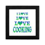 El cocinar del amor del amor caja de regalo