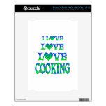 El cocinar del amor del amor NOOK skin