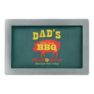 El cocinar del papá hebilla de cinturon rectangular