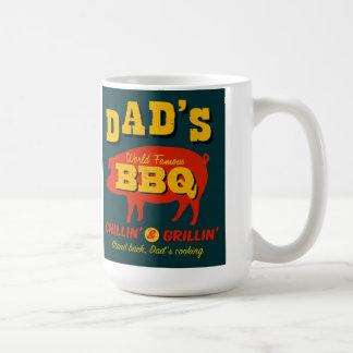 El cocinar del papá taza clásica