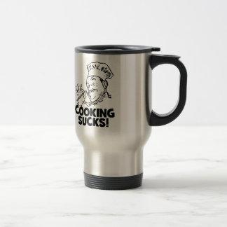 El cocinar divertido chupa los regalos taza de café
