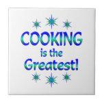 El cocinar es el más grande azulejos ceramicos