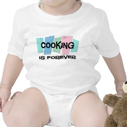 El cocinar es Forever Traje De Bebé