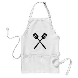 El cocinar - espátula delantal