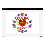 El cocinar feliz 38,1cm portátil calcomanía