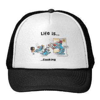 el cocinar gorras de camionero