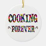 El cocinar para siempre ornamentos de reyes