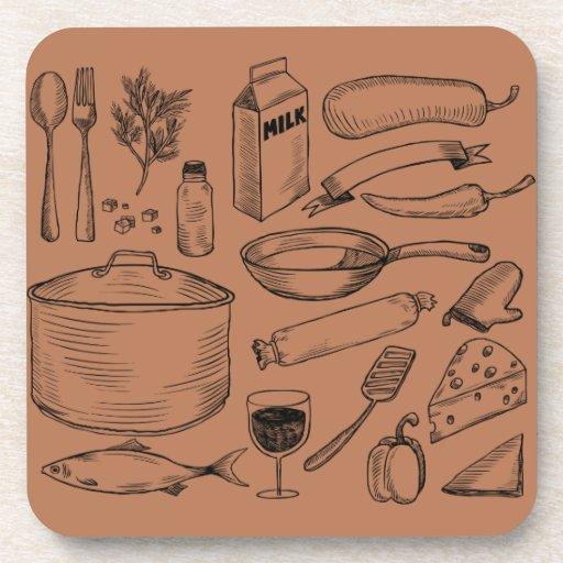 El cocinar posavasos