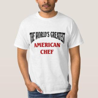 El cocinero americano más grande del mundo camisas