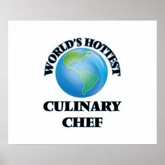 El cocinero culinario más caliente del mundo poster