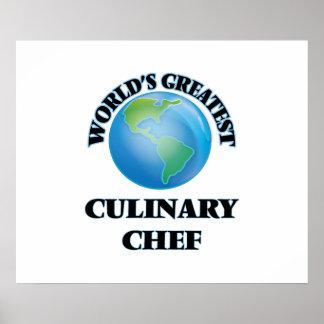 El cocinero culinario más grande del mundo impresiones