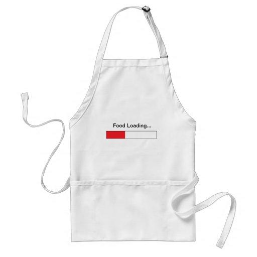 El cocinero del ordenador delantal