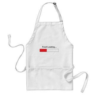 El cocinero del ordenador delantales