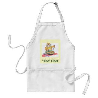 """"""""""" El cocinero Delantales"""