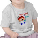 """""""El cocinero es siempre"""" camiseta infantil derecha"""