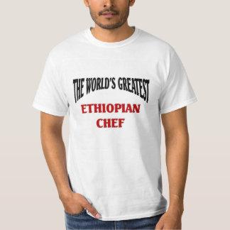 El cocinero etíope más grande del mundo poleras