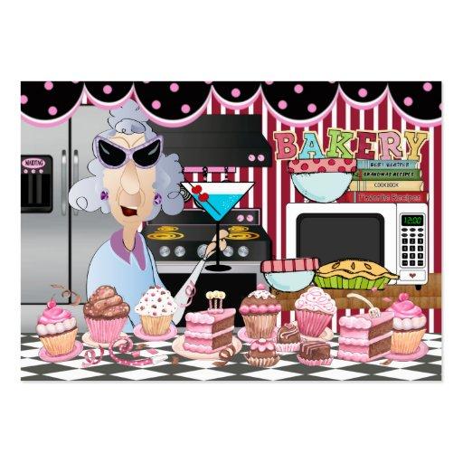 El cocinero feliz/de/que cocina de la cocina - SRF Tarjetas De Visita Grandes