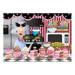 El cocinero feliz/de/que cocina de la cocina - SRF Tarjetas De Visita