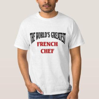 El cocinero francés más grande del mundo playera