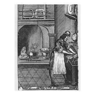 """""""El cocinero francés"""" por el La Varenne Postales"""