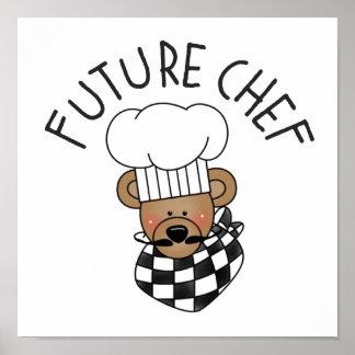 El cocinero futuro embroma el poster