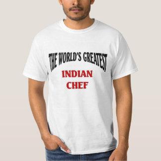 El cocinero indio más grande del mundo playera