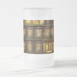 El cocinero - ingredientes - la especia amplía vid taza de café