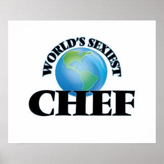 El cocinero más atractivo del mundo impresiones