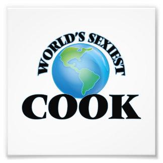 El cocinero más atractivo del mundo impresion fotografica
