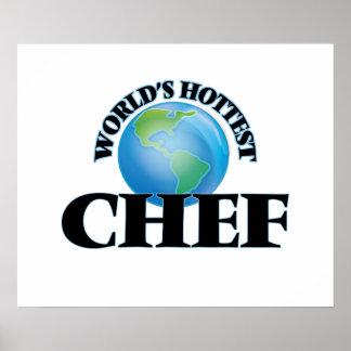 El cocinero más caliente del mundo posters