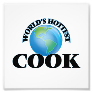 El cocinero más caliente del mundo arte con fotos