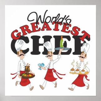 El cocinero más grande de los mundos poster