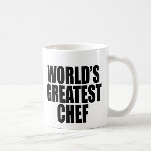 El cocinero más grande del mundo tazas