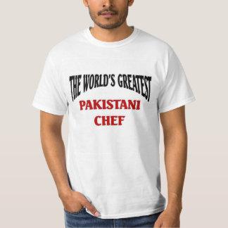El cocinero paquistaní más grande del mundo poleras