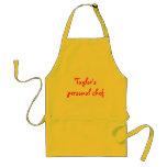 El cocinero personal de Taylor Delantal