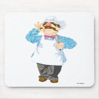 El cocinero sueco Disney de los Muppets Tapete De Raton