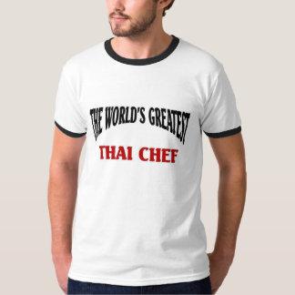 El cocinero tailandés más grande del mundo camisas