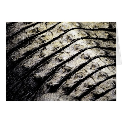 el cocodrilo escala el modelo oscuro abstracto ase felicitación