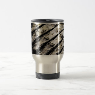 el cocodrilo escala el modelo oscuro abstracto ase taza de café