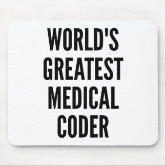 El codificador médico más grande de los mundos tapete de ratón