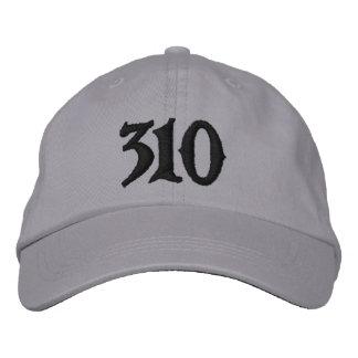El código 310 de Los Angeles-area o el ur del uso  Gorra De Beisbol Bordada