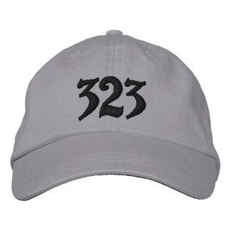 El código de área del código 323, o utilice su de  gorros bordados