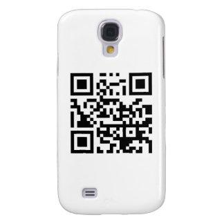 ¡El código de barras de QR me hace feliz con su so Funda Para Galaxy S4