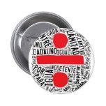 El código de la DIVISORIA redacta el botón (españo Pins