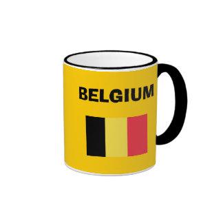 El código de país de Belgium* SEA taza